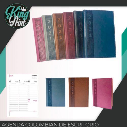 Agenda colombian de escritorio