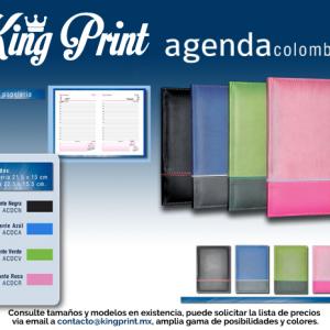 Agenda Colombian Escritorio