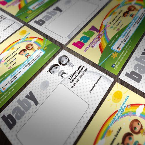 1000 Volantes 1/4 de Carta a Color Por el Frente y Reverso en Escala de grises