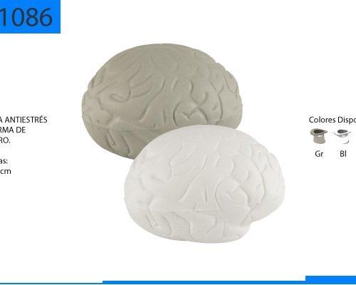 Figura Antiestrés con Forma de Cerebro