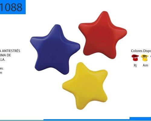 Figura Antiestrés con Forma de Estrella