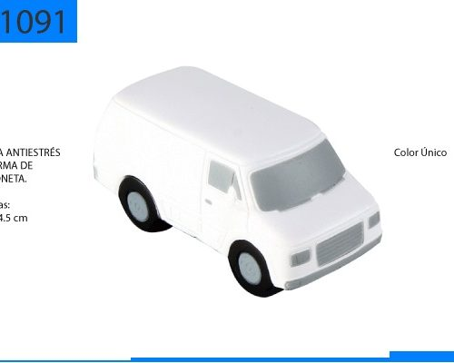 Figura Antiestrés en Forma de Camioneta
