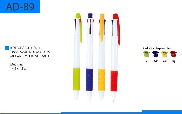 Bolígrafo Plástico 3 en 1