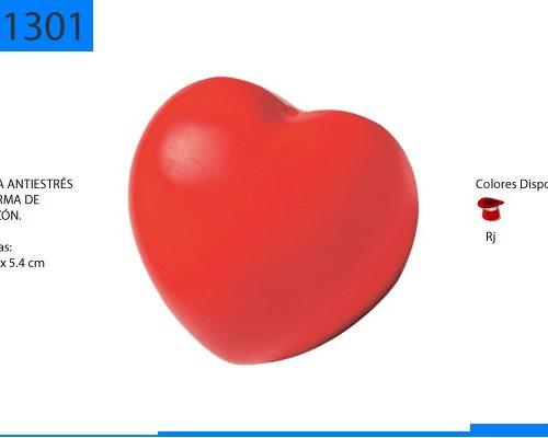 Figura Antiestrés en Forma de Corazón