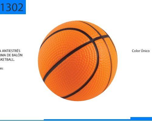 Figura Antiestrés en Forma de Basketball