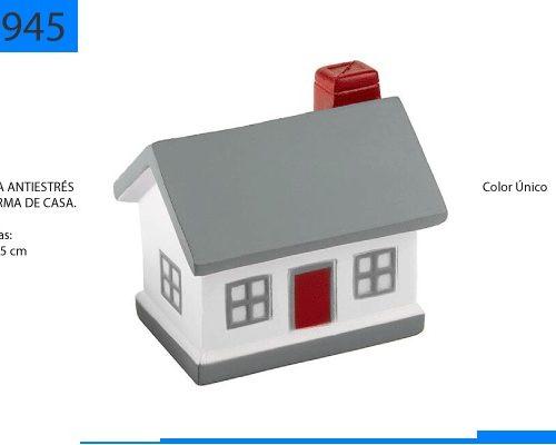 Figura Antiestrés en Forma de Casa