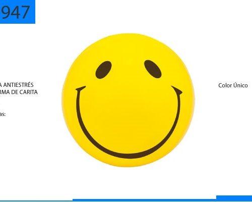 Figura Antiestrés en Forma de Carita Feliz
