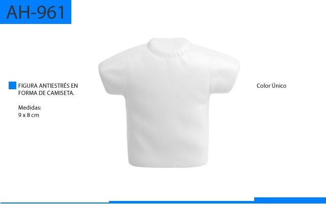 Figura Antiestrés en Forma de Camisa