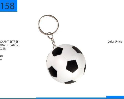 Figura Antiestrés en Forma de Balon de Soccer