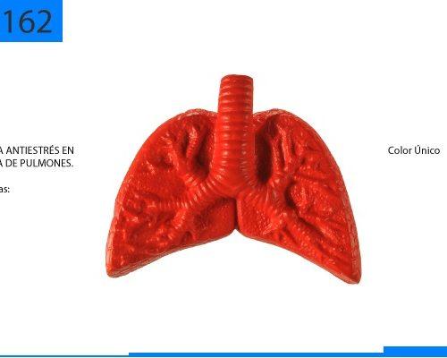 Figura Antiestrés en Forma de Pulmones
