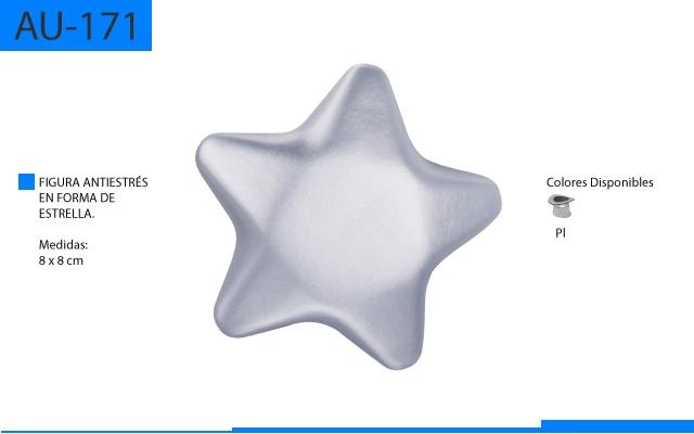 Figura Antiestrés en Forma de Estrella