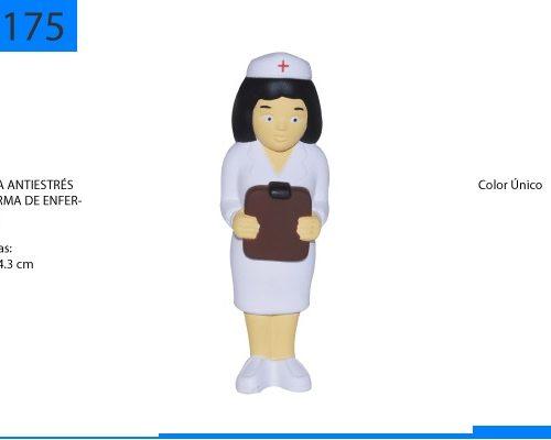 Figura Antiestrés en Forma de Enfermera