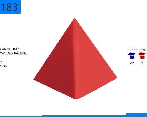 Figura Antiestrés en Forma de Pirámide