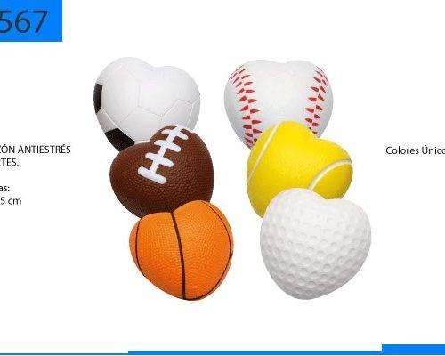 Corazón Antiestrés Deportes