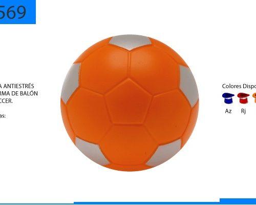 Antiestrés Balon Soccer Colores