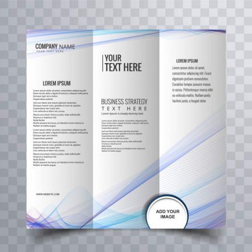 Servicio de Diseño para Triptico y Diptico
