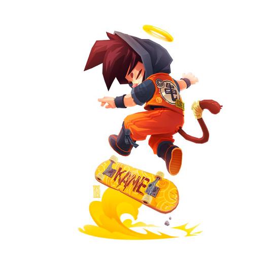 Goku_diseño