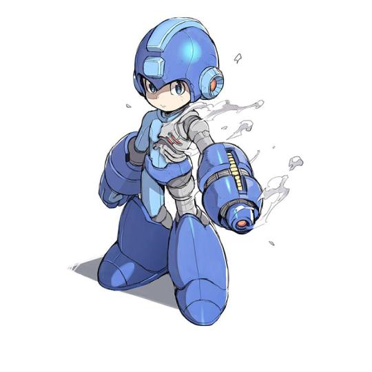 Megaman_diseño