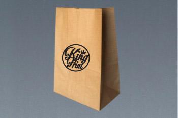 ff9b563fb 100 Bolsa Kraft del N°16 con impresión a 1 tinta – KingPrint