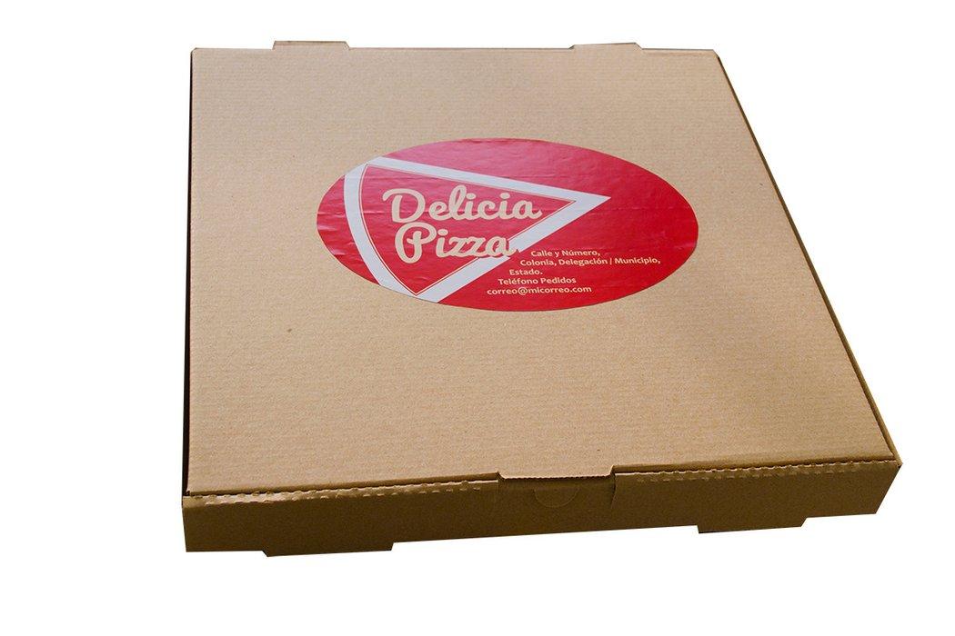 etiqueta para pizza